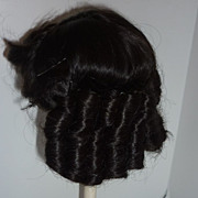 1970's~ Doll Wig~  Dark Brown with Sausage Curls
