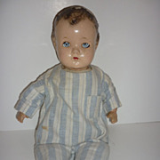 SALE 1947-50 ABC Toy Company- Composition and Cloth- Mama Doll -Crier -TLC please