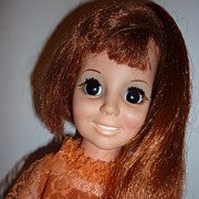 SOLD Ideal Crissy Doll -1969- Second Issue, Original Dress & Shoes