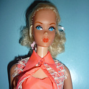 Mattel Talking Barbie Doll- #1115 from 1969-Original Outfit