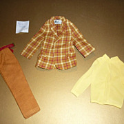 SOLD Mattel- Ken's ~Bold Gold~ Outfit #1436 from 1970