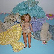 REDUCED 1950's Cissette Doll and Wardrobe- Childhood Collection -Lovely!