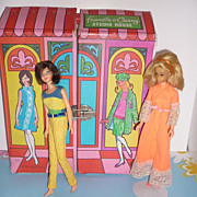 Mattel ~Francie & Casey-Studio House~ From 1966 -Hard To Find