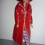 SOLD Mattel -Francie ~Long On Leather-Outfit~  #1769 From 1970-1971
