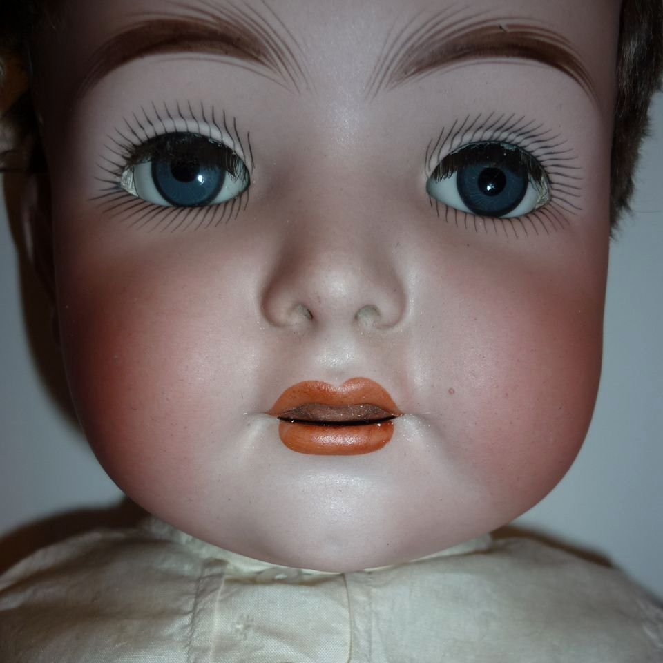 Franz Schmidt Character Baby Doll- 1295 -55  -22&quot; Breather-Tongue