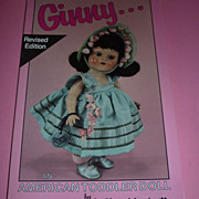 Ginny-An American Toddler- Doll Book-A. Glenn Mandeville -Revised Edition-1991