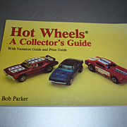 Hot Wheels - A Collector's Guide Book - Bob Parker - 1993 First Edition
