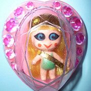 Mattel ~Jewelry Kiddle -Heart Pin Doll~ #3741  -Unplayed With 1968-70