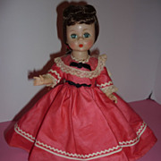 REDUCED 1955 Madame Alexander ~Alexander-kins, Jo~ from Little Women + Stand