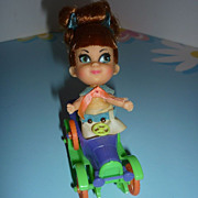 Mattel ~Kiddles N Kars~ Teresa Touring Kar- #3644 From 1969-70 Un-Played With