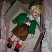 SALE Madame Alexander -International Series -AUSTRIA BOY -#599- Boxed-All Original