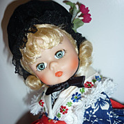 SALE Madame Alexander -International Series- Germany Doll- #563-Boxed-All Original