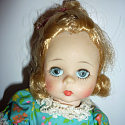 "Madame Alexander~ Mary Mary - 8"" Doll 1965-72 - All Original"