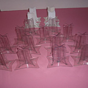 Mattel ~Mod- Barbie X-Stands ~ Lot Of 17 -13 Clear - 4 White -Nice