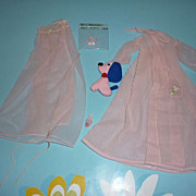 SOLD Mattel-Barbie ~Nighty Negligee Set~  #965  From 1959-1964
