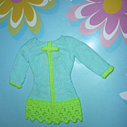 Mattel-Barbie ~Now Wow!! Dress- #1853 From 1968 -Only