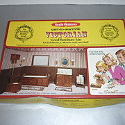 Realife Miniatures~Victoria Bathroom Kit~ #197 -In Original Box, From 1977