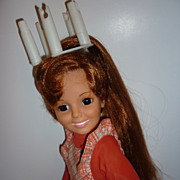 Ideal ~Swirl A Curler Crissy Doll~ Circa 1973 - Younger Than Me!