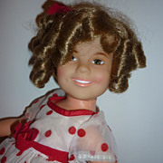 SALE Ideal 1972 Shirley Temple Doll - All Original-Unplayed With-Stand Up & Cheer!