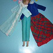 Mattel Skipper Clothing Lot-The Slumber Party, Outdoor Casuals & Platter Party