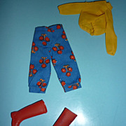 Mattel-Skipper ~Nifty Knickers~ Outfit - #3291 From 1972- HTF