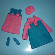Mattel -Skipper's ~Twice As Nice~ Outfit #1735 From 1970-1971