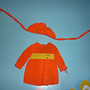 Mattel-Skipper ~Pants 'n Pinafore~ Dress & Sunbonnet #1970  From 1969 - 1970