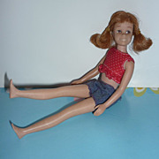 Mattel Skooter Doll-Titian- 1965 - Original Crop Top and Shorts #1040