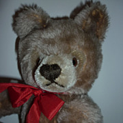 "~Steiff- Teddy Bear - Working Growler -12"" Tall -Caramel Colour -Nice Mohair"