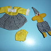 Mattel Tutti Outfit ~Clowning Around~  #3606 from 1967
