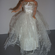 Mattel ~Wedding Day~ Dress for Barbie 1959-62  #972