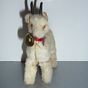SALE PENDING Original Real Fur Toys - Billy Goat - Made in West Germany