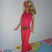 SOLD Mattel ~Walk Lively Barbie~ #1182 From 1971 - Original Outfit with Belt