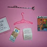 Mattel Vintage Barbie -Small lot of HTF Accessories - 6 Pieces