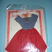 SALE 1960's Barbie Dress- in Original Packaging from OMK Portugal- Rare!