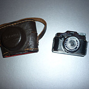1950's Crystar Miniature Camera and Case -Spy / Hit Camera