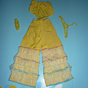Mattel-Barbie ~Caribbean Cruise~ Jumpsuit, Shoe & Hanger- #1687 From 1967 Only