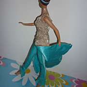 Mattel-Barbie~ Evening Gala~ Pants & Overdress #1660 From 1966-1967