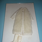 SALE Mattel-Francie ~Frosty Fur~ Coat & Squishy Boots #3455 From 1971-1972
