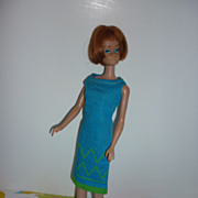SOLD ON HOLD FOR WR Mattel-Barbie ~Junior Designer~ Dress -  #1620 From 1965-1967