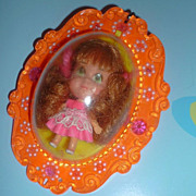 Mattel ~Lottie Locket-Lucky Locket Kiddle~ First Issue - Orange Locket