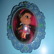 Mattel ~Lucky Locket  Kiddle-Loretta Locket~All Original -1967-1970