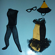 Mattel-Barbie ~Masquerade~Outfit - #944 From 1963-1964