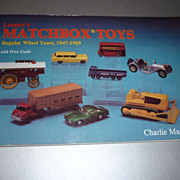Lesney's Matchbox Toys Book by Charlie Mack 1992 First Edition