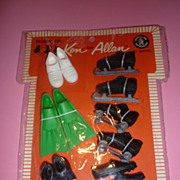 SALE Mattel Ken and Allen Pak ~Shoes for Sports~ Mint On Card, 1964-67