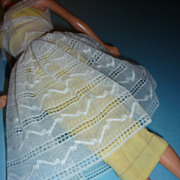 Mattel Barbie ~Orange Blossom~ Dress #987 from 1961-64