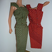 Mattel Barbie~On The Go~ Sheath Pak Dresses -1964-1965