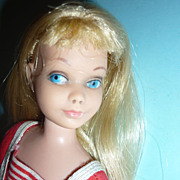Mattel ~Skipper Doll~ Blonde Hair And Original Swimsuit -Sweetie!