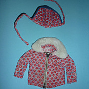 Mattel-Skipper ~Sledding Fun~ Jacket & Hat #1936  From 1966