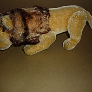 Steiff-Jointed Lion from the 1960's - 10&quot; long